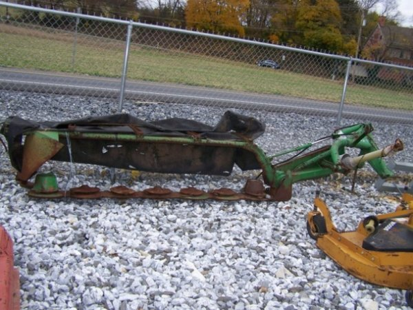 23: John Deere 270' Disk Mower for Tractors Parts only