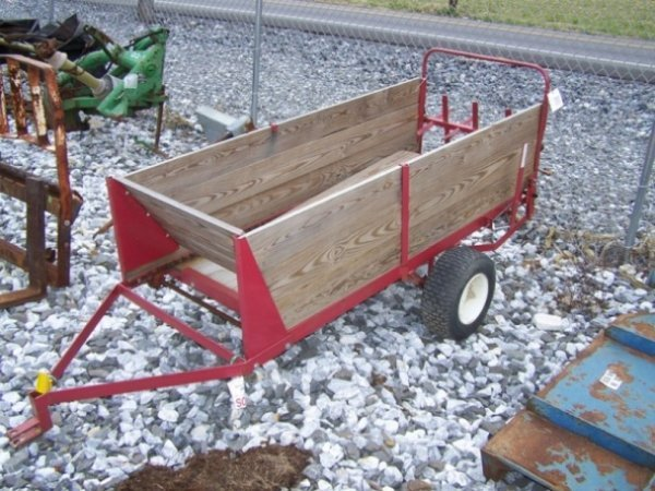 28: Pull Type Manure Spreader for Compact Tractors
