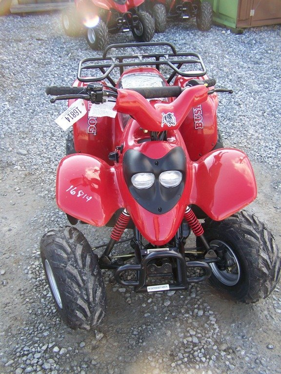 167: New Unused Bush Hog 50 CC Youth Four Wheel - 2