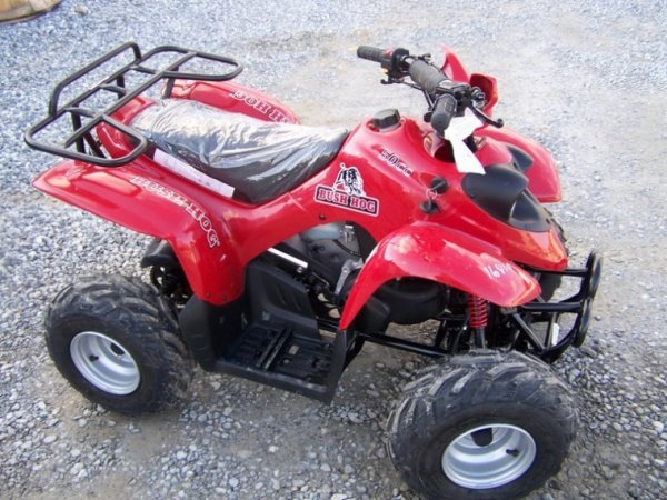 167: New Unused Bush Hog 50 CC Youth Four Wheel - 3