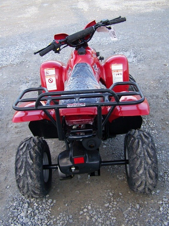 167: New Unused Bush Hog 50 CC Youth Four Wheel - 4