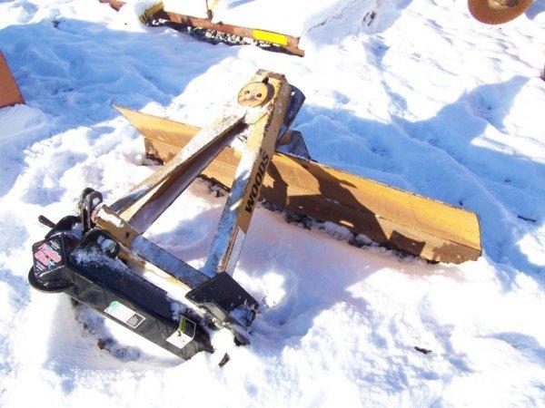 15A: Woods RB5 3pt Scraper Blade for Tractors!