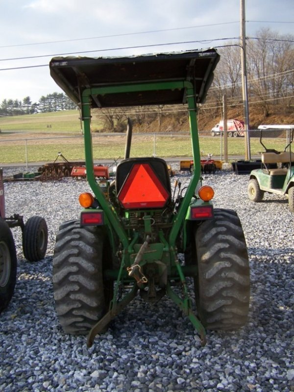 1125: John Deere 790 4x4 Compact Tractor with Loader - 4