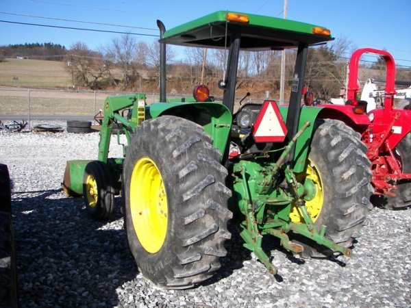 1143: John Deere 2355 Tractor with Loader, Canopy ROPS - 8