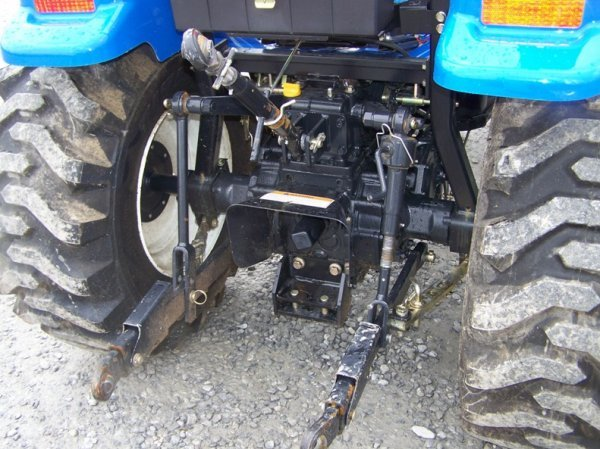 1179: New Holland TC29DA 4x4 Compact Tractor with Loade - 5