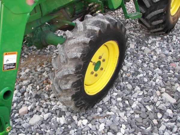 1216: John Deere 990 4x4 Compact Tractor with Loader - 4