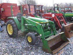 Large Ag & Ind  Eq  Auction January 14th Prices - 133