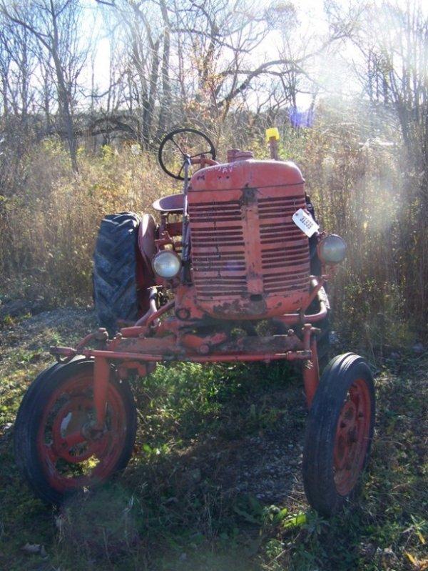 53: International Farmall Super AV Hi Crop Tractor - 2
