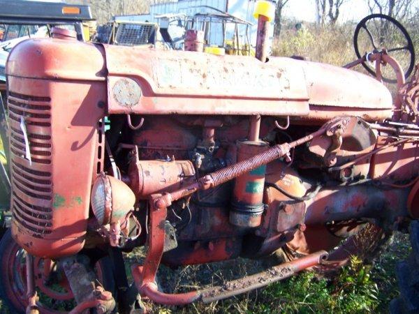 53: International Farmall Super AV Hi Crop Tractor - 9