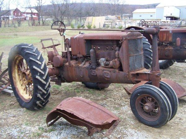 54: Massey Harris Challenger Tractor Complete