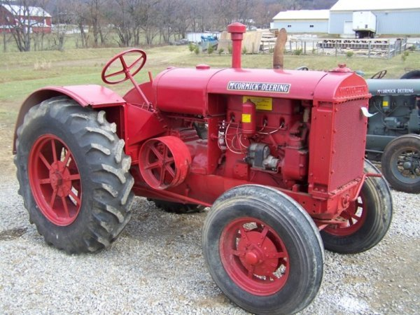 50: McCormick W30 Tractor  Loose Engine