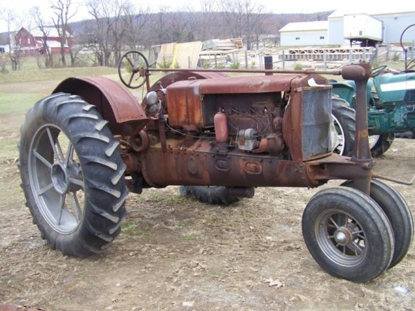 55: Massey Harris Challenger Tractor with PTO