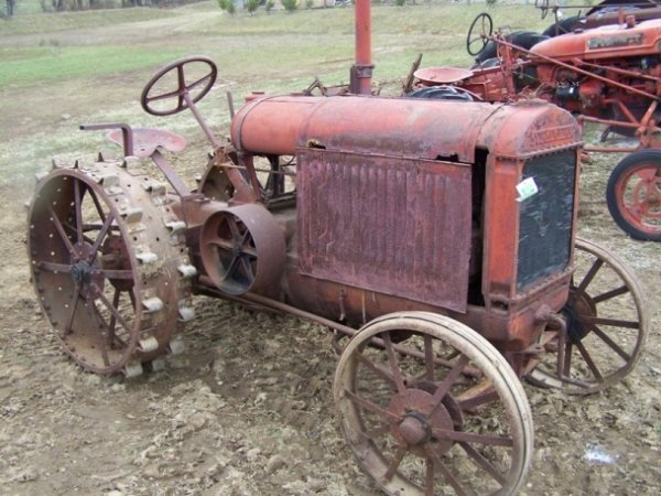 52: McCormick 10-20 Tractor with Full Steel Wheels