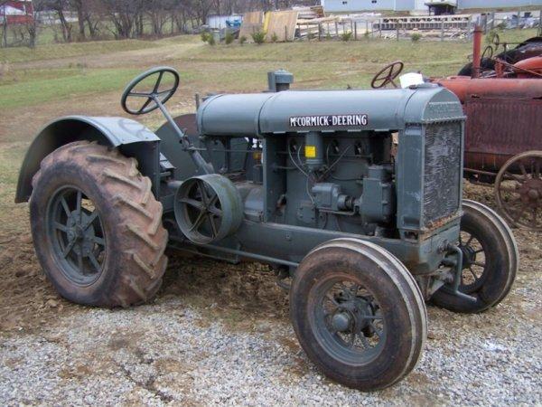 51: McCormick 10-20 Antique Tractor
