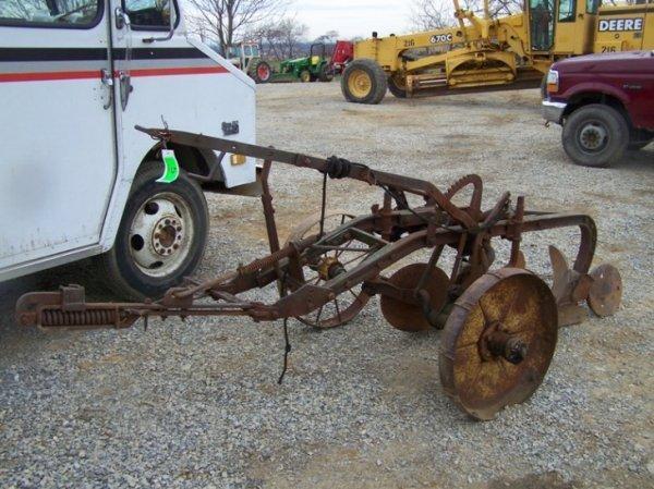 5: John Deere Antique 2 Bottom Plow