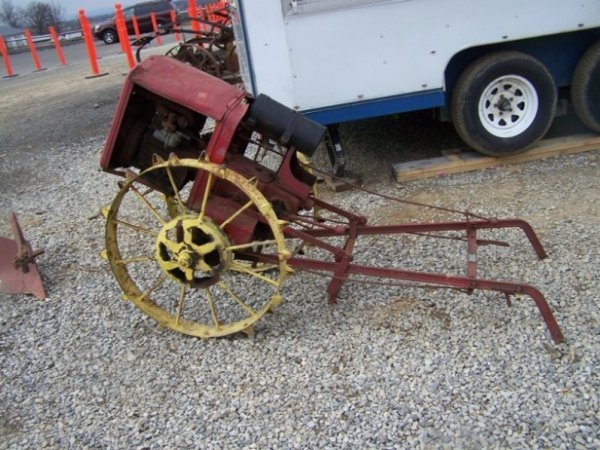 9: Viking Antique Lawn and Garden Tractor - 2