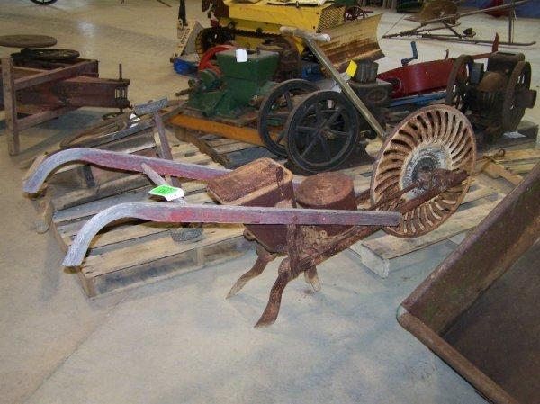 10: Antique Single Row Horse Drawn Planter