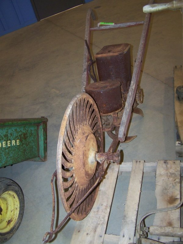 10: Antique Single Row Horse Drawn Planter - 5