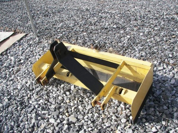 1: 3pt 4' Box Blade for Tractors
