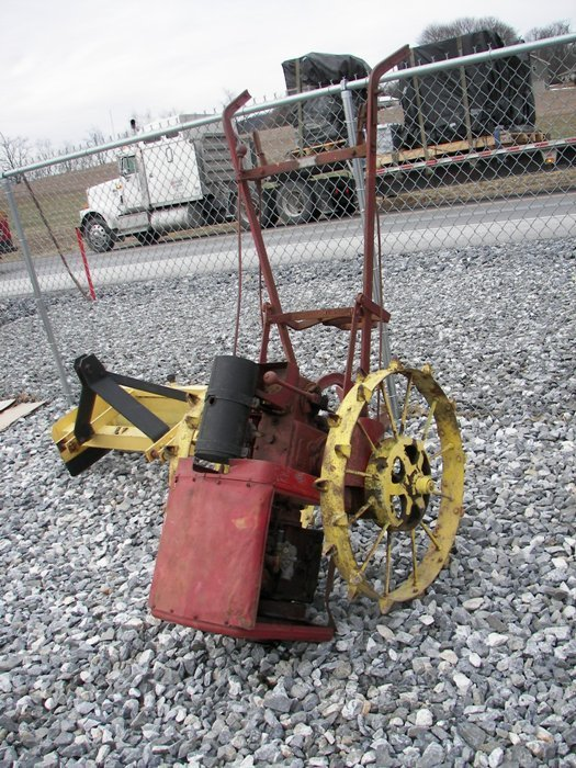 2: Viking Lawn and Garden Tractor with 1 Bottom Plow