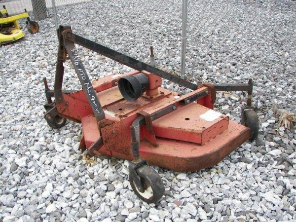 12: Bush Hog FTH 600 3pt Finish Mower for Tractors