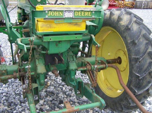 128: John Deere MT Antique Farm Tractor, Side Dresser - 5