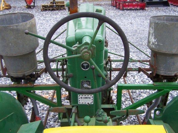 128: John Deere MT Antique Farm Tractor, Side Dresser - 6