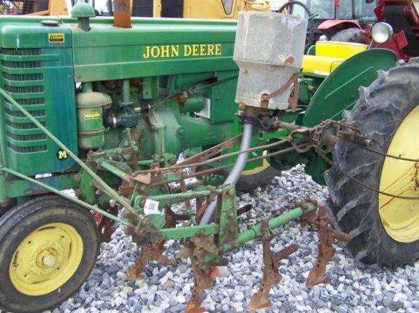 128: John Deere MT Antique Farm Tractor, Side Dresser - 7
