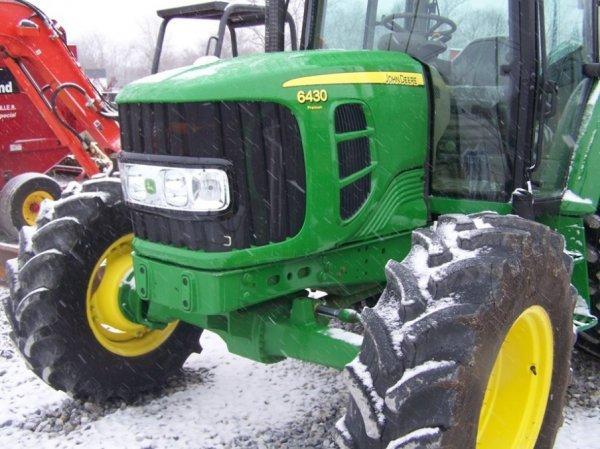 159: John Deere 6430 Premium 4x4 Farm Tractor With Cab - 10