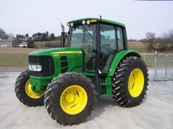 159: John Deere 6430 Premium 4x4 Farm Tractor With Cab