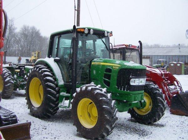 159: John Deere 6430 Premium 4x4 Farm Tractor With Cab - 3