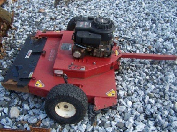 """39: Swisher 44"""" Tow Behind Finish Mower ATV Tractors"""