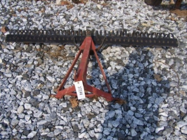 42: Yanmar 6' Yard Rake for Compact Tractors