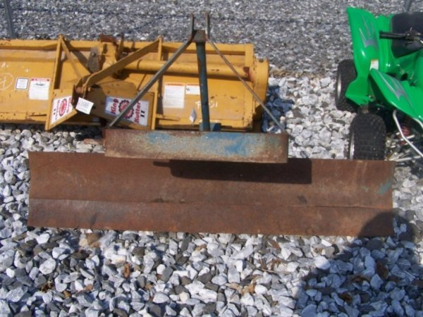 47: King Kutter 6' Rear Blade for Compact Tractors