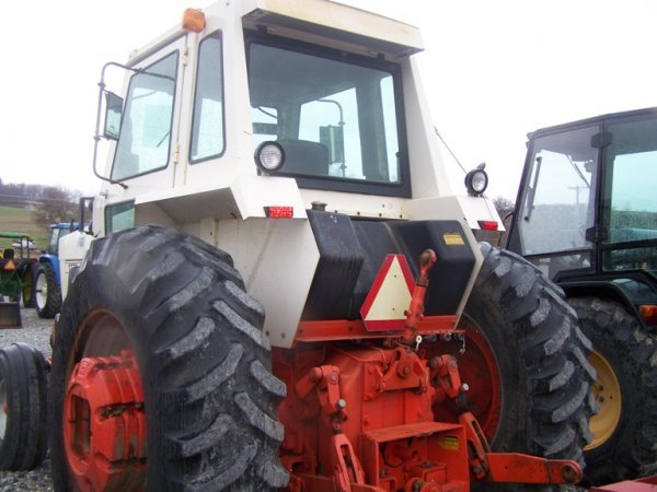 262: CASE 1270 Agri King Tractor with Cab, Power Shift - 7