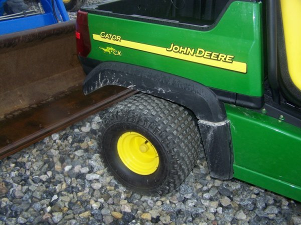 263: John Deere CX Gator with Canopy, Gas 67 Hours - 10