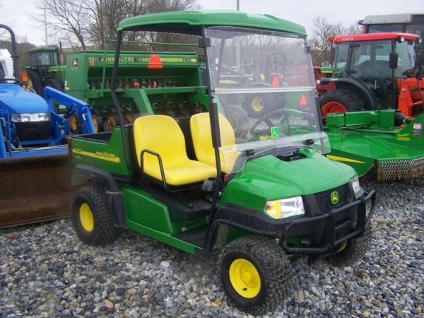 & 263: John Deere CX Gator with Canopy Gas 67 Hours