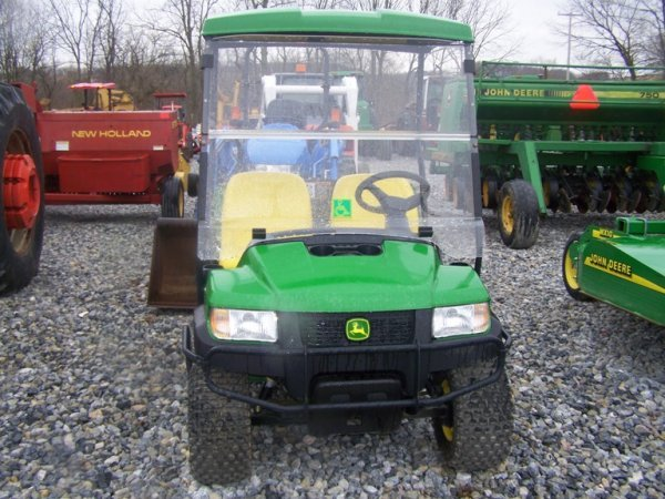 263: John Deere CX Gator with Canopy, Gas 67 Hours - 2