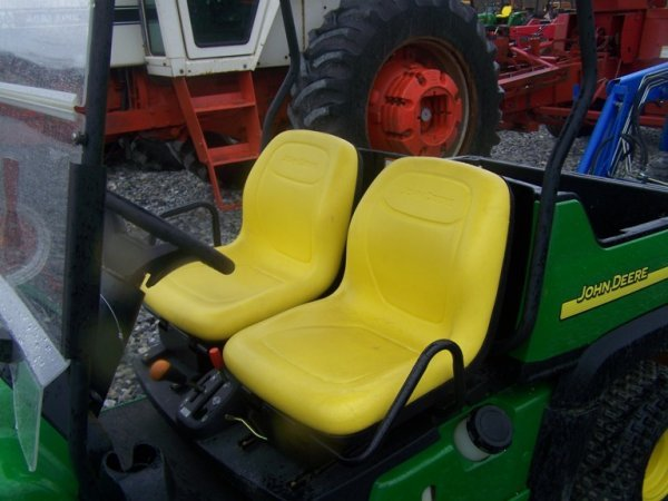 263: John Deere CX Gator with Canopy, Gas 67 Hours - 5