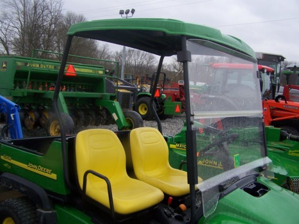 263: John Deere CX Gator with Canopy, Gas 67 Hours - 9