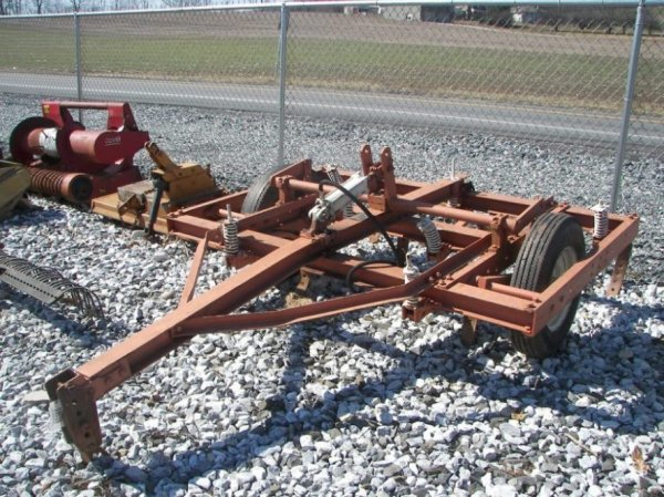 """44: 78"""" Chisel Plow for Tractors Hyd Lift"""