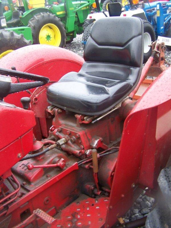 623: International 424 Tractor with Snowblade, Gas, - 10