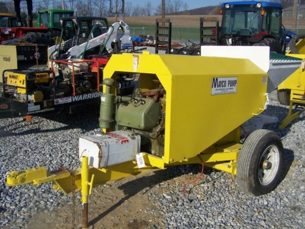 696: Mayco Tow Behind Concrete Pump with Gas Engine - 2