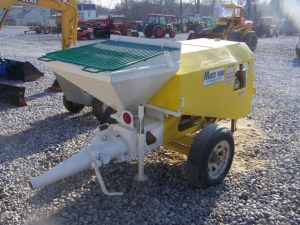 696: Mayco Tow Behind Concrete Pump with Gas Engine - 4