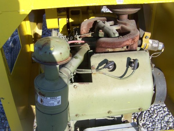 696: Mayco Tow Behind Concrete Pump with Gas Engine - 8