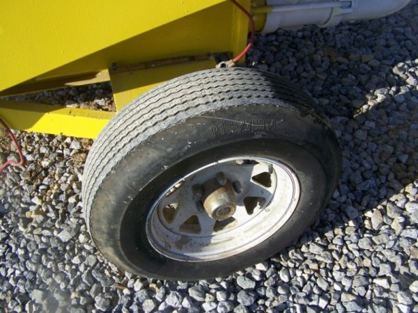 696: Mayco Tow Behind Concrete Pump with Gas Engine - 9