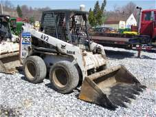 876: Bobcat 763 G Skid Steer Loader,  OROPS