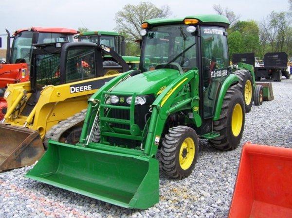 John Deere 3720 Manual : John deere compact tractor cab loader lot