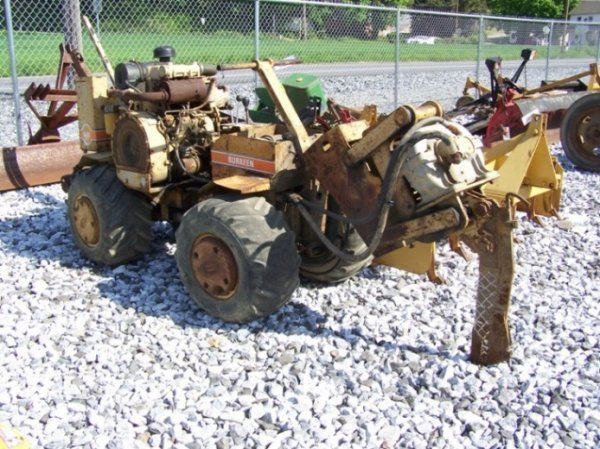 45: Berkeen B-30 Walk Behind Trencher and Cable Plow