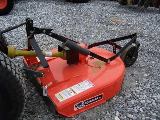 141 Bush Hog Sq148 Rotary Mower For Tractors Very Nice
